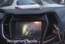 Видео в движении Hyundai SantaFe