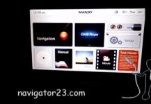 Русификация Mando MP300S Hyundai Starex H1